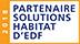 Société certifiée partenaire solutions habitat d'EDF
